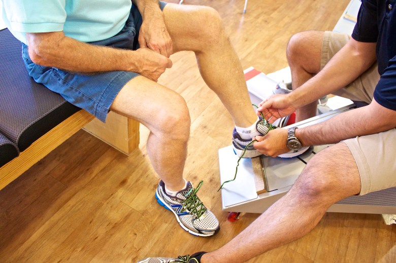 Specialty shops and running stores have trained staff on hand to help you put your best foot forward.