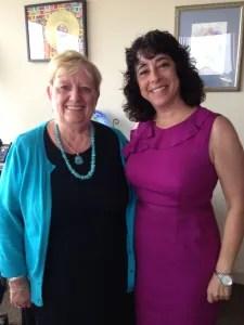Pre-K 4 SA CEO Kathy Bruck and Board Chair Elaine Mendoza.