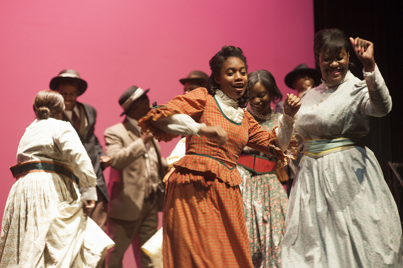 """From the Playhouse production of the musical """"Ragtime."""" Photo by Dwayne Green."""