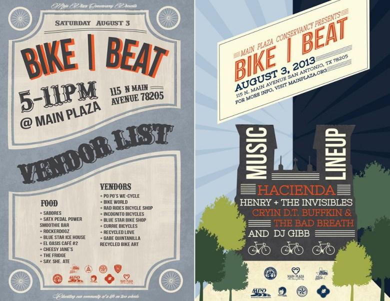 Bike Beat Posters Aug 3 2013