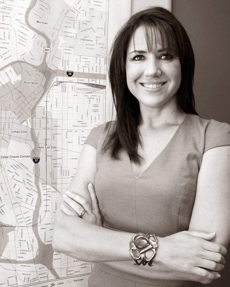 Lori Houston, director of the Center City Development Office. Photo by Al Rendon