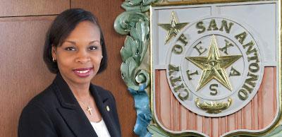 District 2 Councilwoman Ivy Taylor