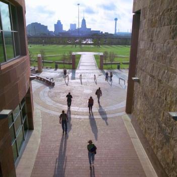 Downtown San Antonio as seen from UTSA's downtown campus. Photo courtesy of UTSA.