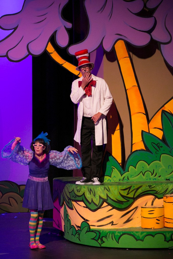 a scene from Seussical the Musical, which completed the 2012-2013 season this past Saturday.