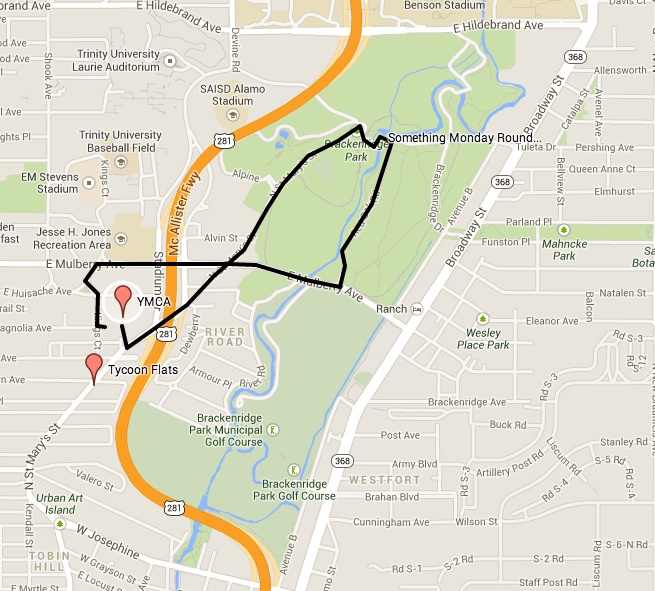 Click the image or here for an interactive route map.
