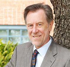 Trinity University President Dr. Dennis Ahlburg