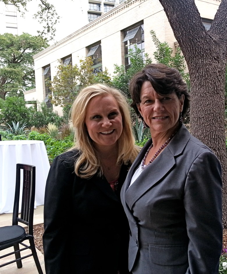 CVB Executive Director Cassandra Matej and Witte Museum President and CEO Marise McDermott. Photo by Iris Dimmick.