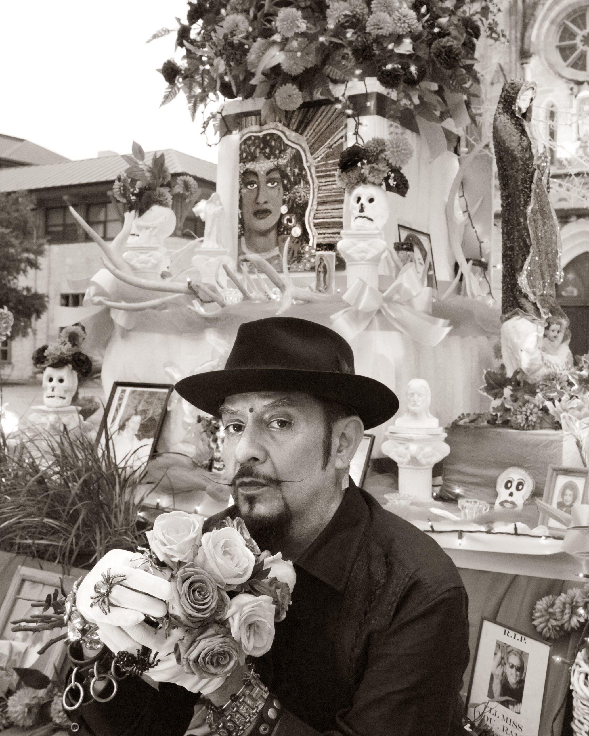 David Zamora Casas, artist. Photo by Al Rendon.