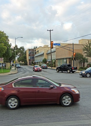 The block of Main Avenue in question between East Caesar Chaves Boulevard and Arsenal Street. Photo by Charlotte Luongo.
