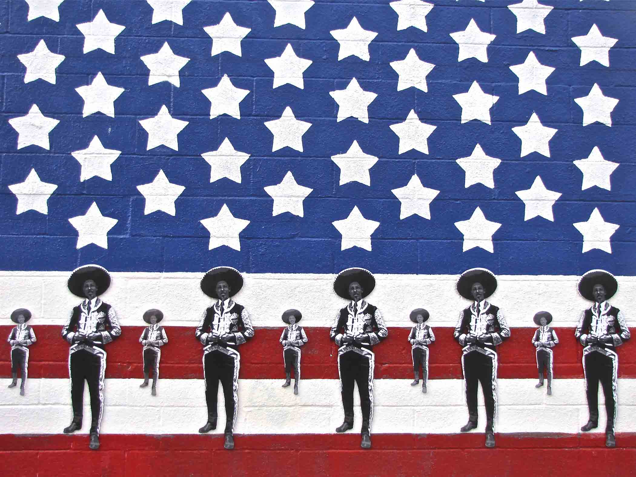 """""""Mariachi Nation"""" installation at Gallista Gallery, 1913 South Flores, by Luis Valderas. Opening reception on Second Saturday Oct. 12. 6-9 p.m."""