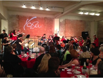The Radius Center was full — over 200 guests came to support YOSA. Photo by Sarah Hedrick.