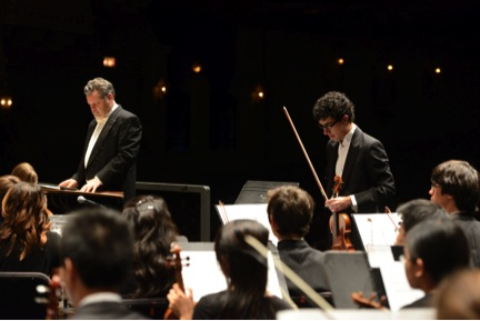The YOSA Philharmonic, conducted by Troy Peters. Photo courtesy of www.yosa.org.