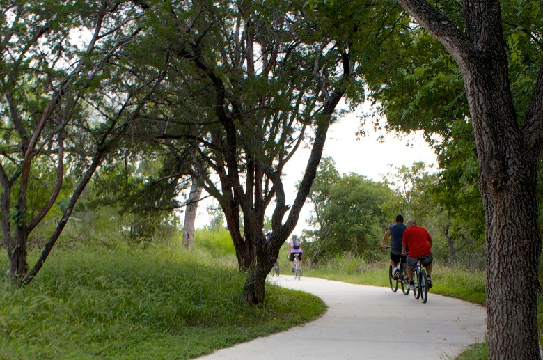 There are now more places than ever to safely hike and bike in our city.