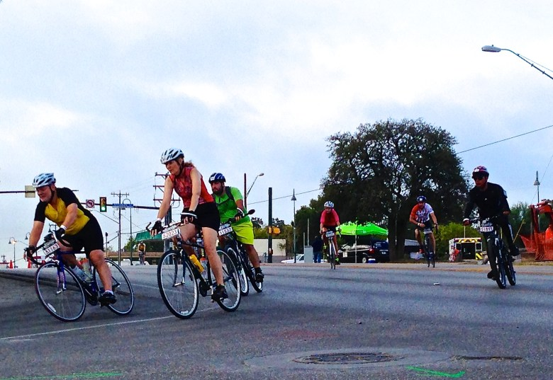 Twists and turns kept riders on their toes during the third edition of the Rock 'n Roll bike tour.