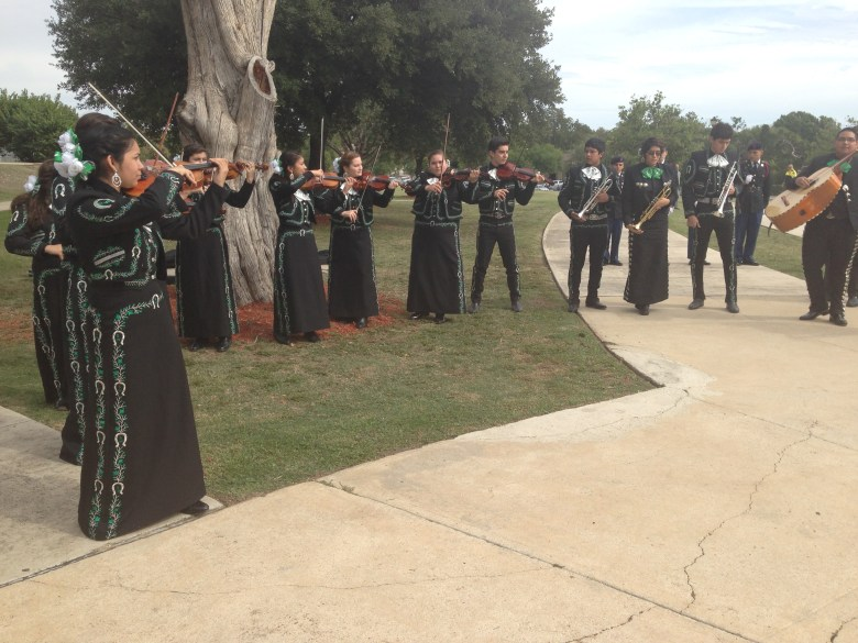 The Southwest High School mariachis perform at the Go Public campaign launch. Photo by Bekah McNeel.The Southwest High School mariachis perform at the Go Public campaign launch. Photo by Bekah McNeel.