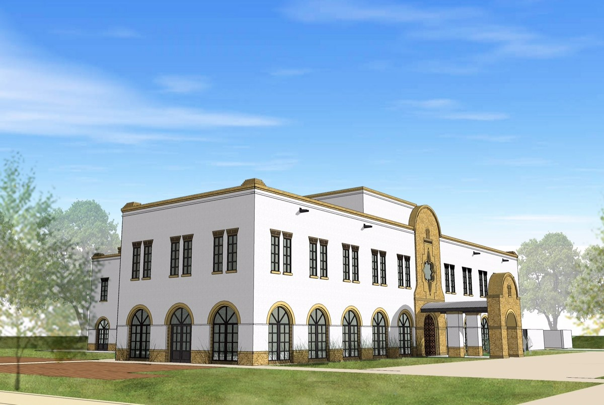 Texas A&M University -San Antonio Patriots' Casa is scheduled to be fully-functional for the fall 2014 semester. Courtesy rendering.