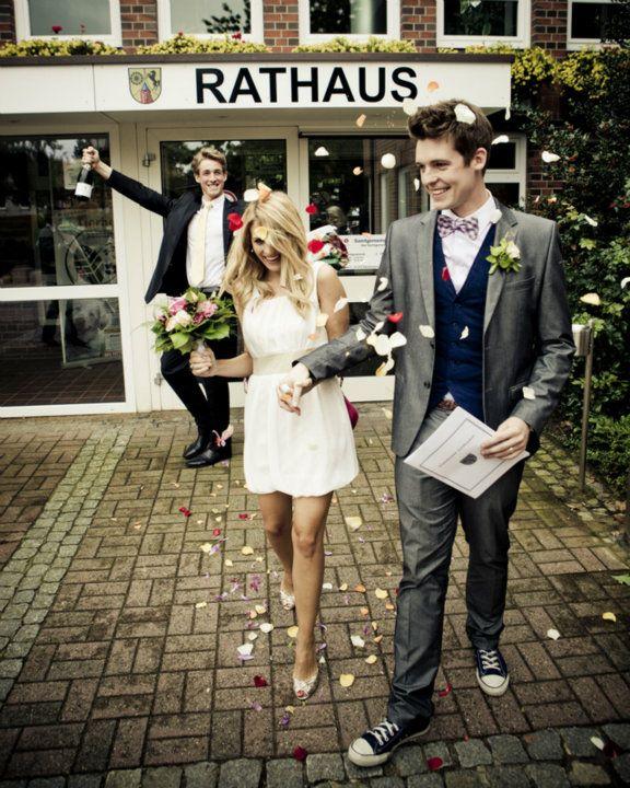 Our courthouse wedding near outside of Hamburg. Courtesy photo.