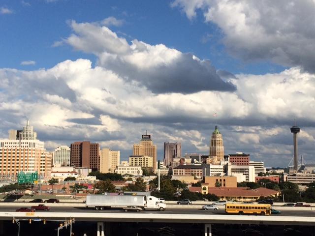 View of downtown San Antonio from UTSA Downtown Campus. Courtesy photo.
