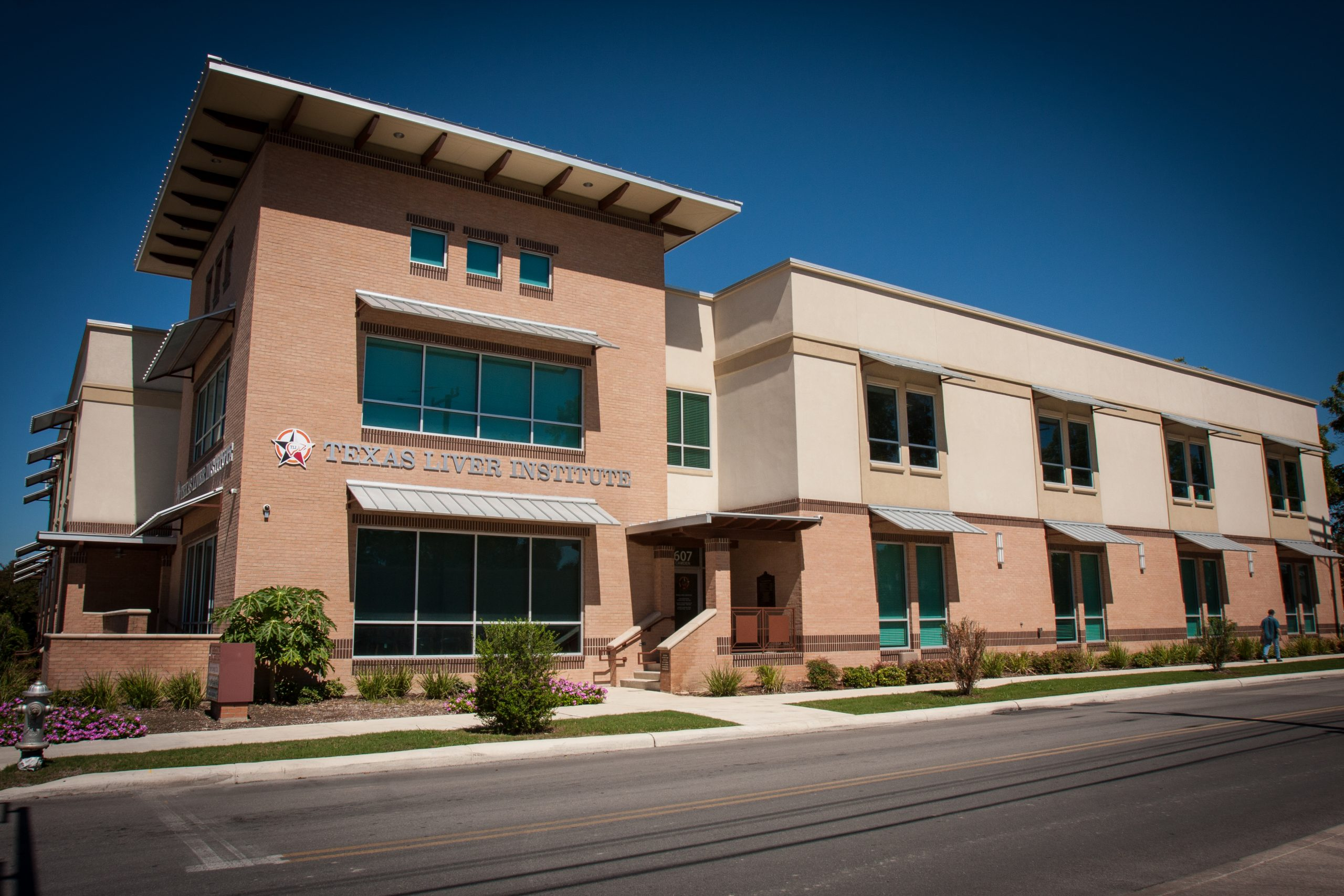The Texas Liver Institute at 607 Camden Street. Courtesy photo.