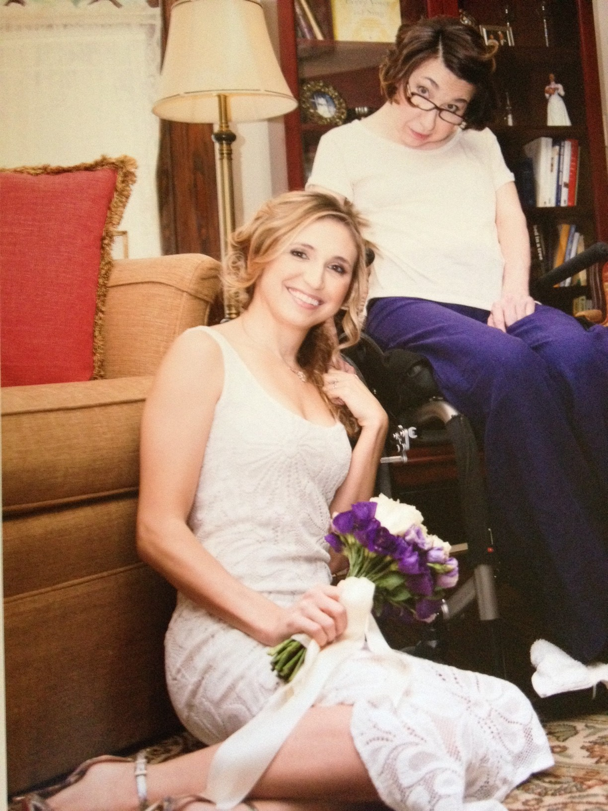 Candice Valenta and her mother, Margie. Photo by Gina Jolly photography.