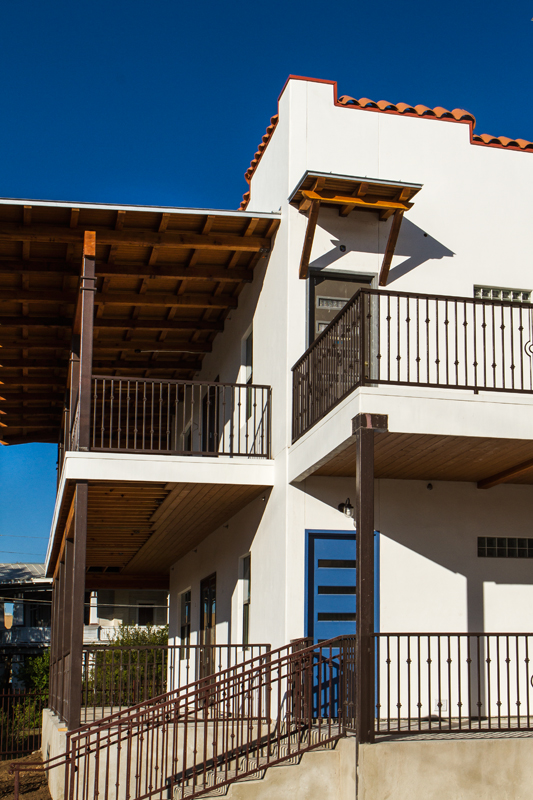 Casa Blanca Lofts' contemporary details and old San Antonio charm. Photo by Robert Strovers