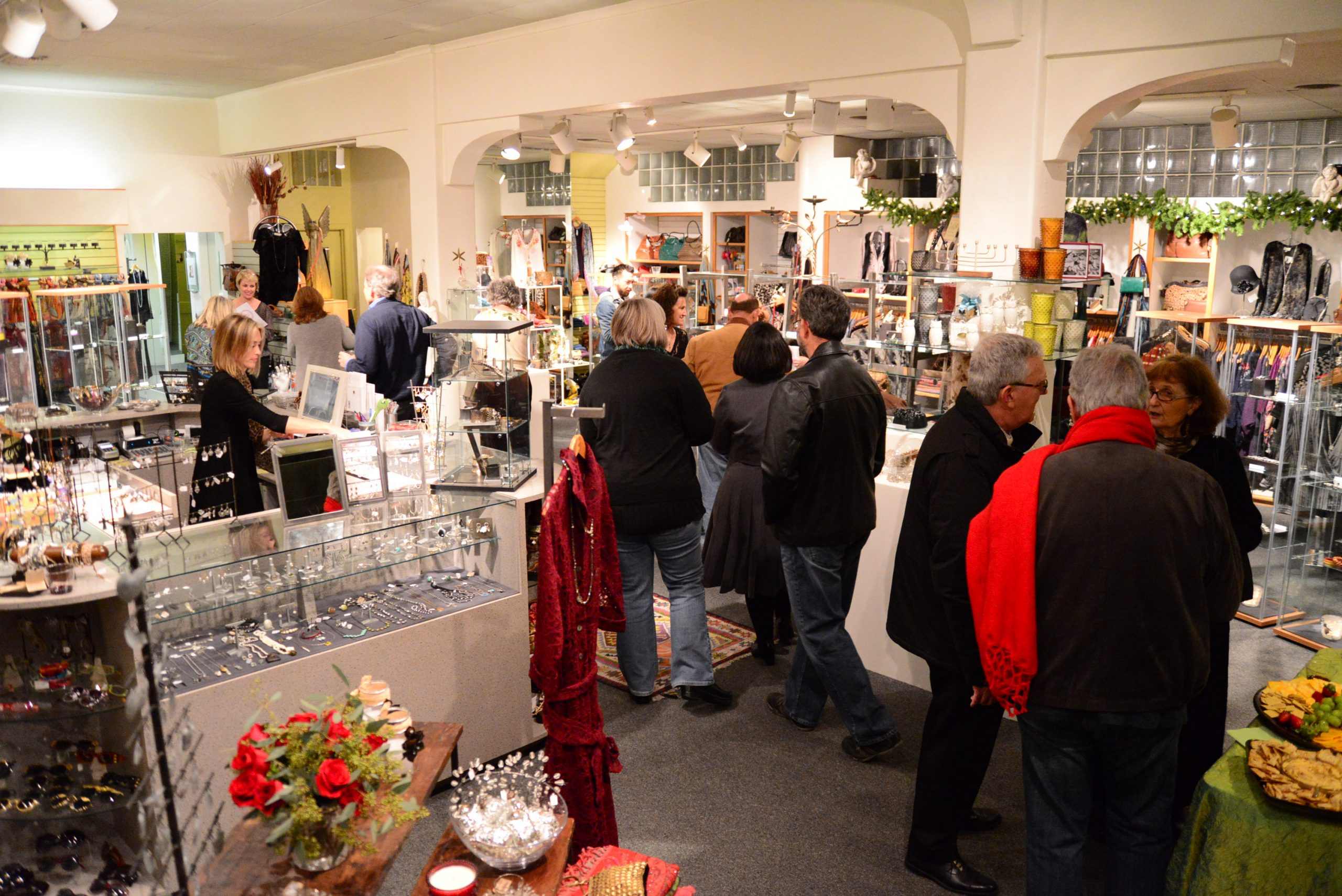 Opening reception at Kathleen Sommers. Photo by Page Graham.