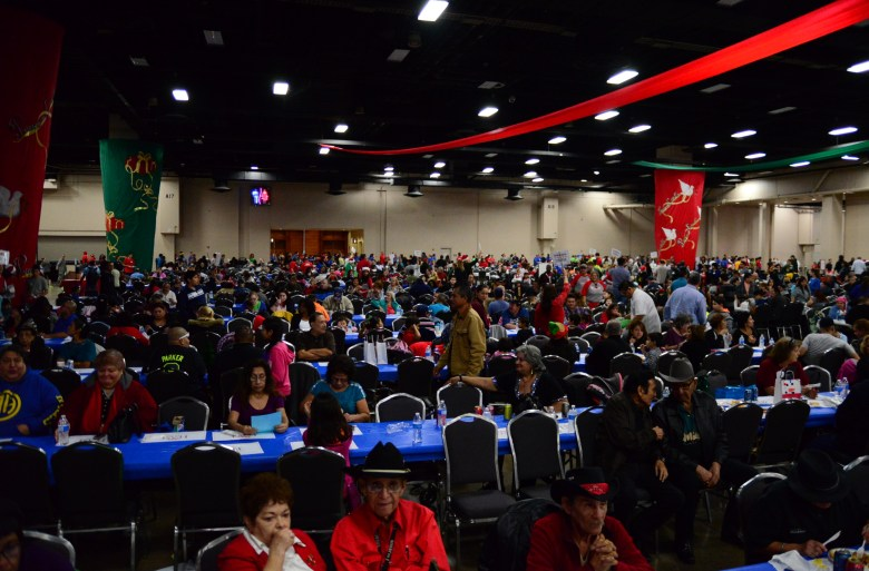 An estimated 18,000 people attended the H-E-B Feast of Sharing at the Henry B. Gonzalez Convention Center. Photo by Page Graham.
