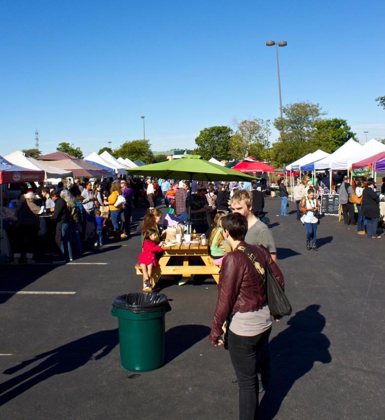 The popularity of farmer's markets is just one sign of our city's move toward a healthier community.