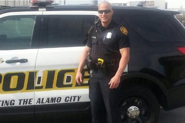 San Antonio Police Officer Robert Deckard
