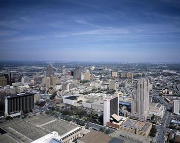 San Antonio Skyline. Photo courtesy of newgeography.com.