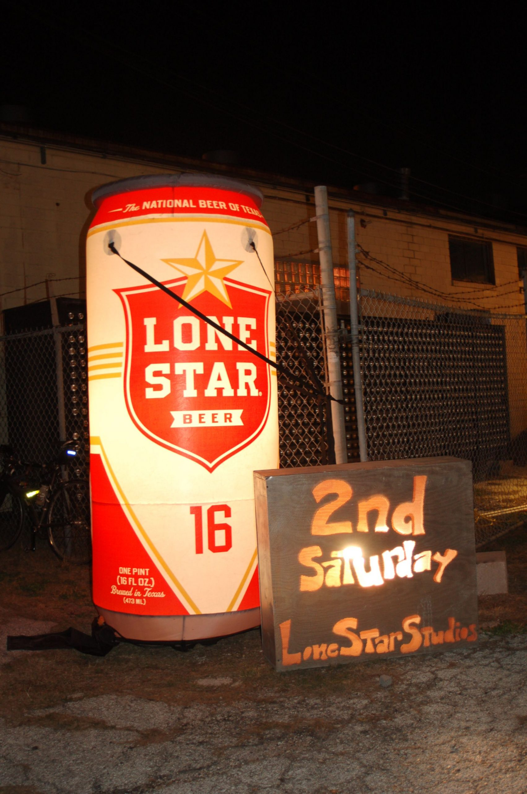 Second Saturday Art Walk at the corner of South Flores and Lone Star. Photo taken by Rene Jaime Gonzalez