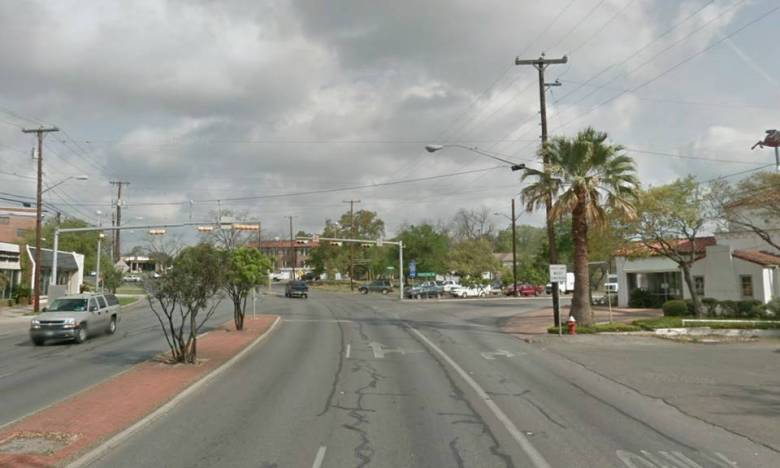 Current view of Broadway and Austin Hwy. Photo courtesy of Overland Partners