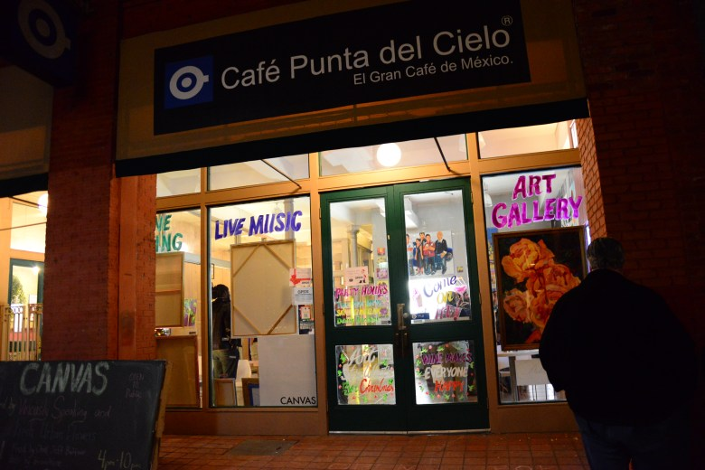 Canvas is operating out of the short-lived Cafe Punta del Cielo, a coffeehouse chain based out of Mexico City. Photo by Page Graham.