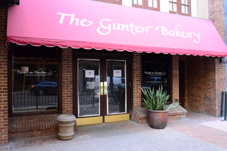 Market on Houston will be opening soon in the former Gunter Bakery location, offering a variety of freshly prepared foods for downtown workers and residents. Photo by Page Graham.