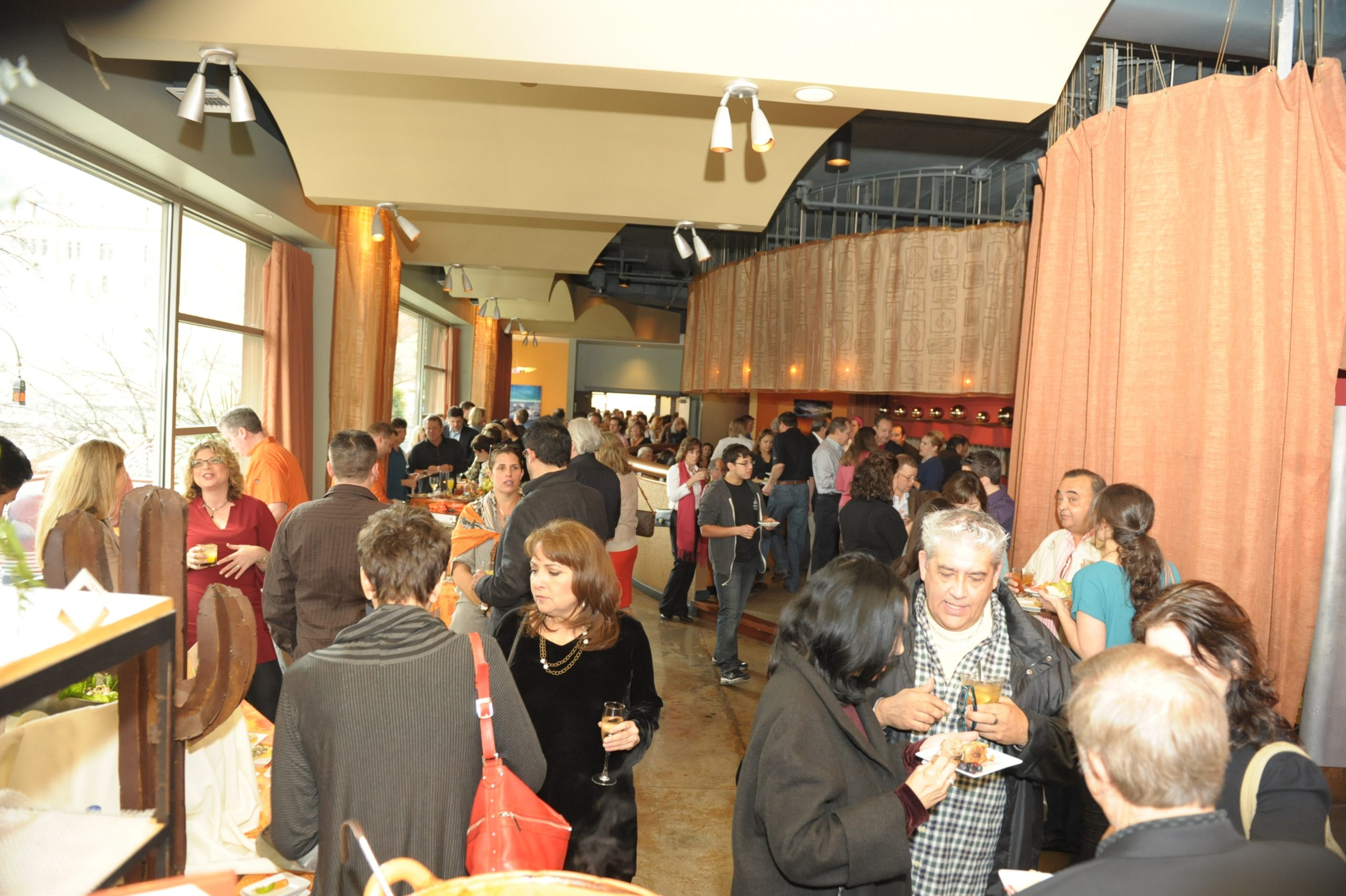 The crowd at the 2013 Chefs for Chefs brunch. Courtesy photo.