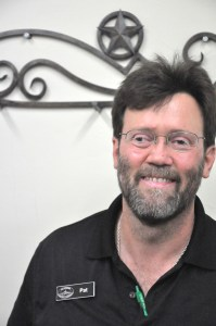 Pat Puig, owner of San Antonio Discount Textbooks