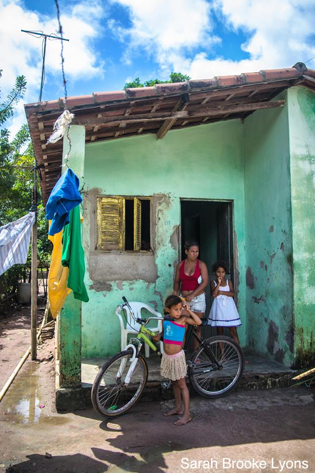 From Lyons' recent trip to Natal, Brazil. Photo by Sarah Brooke Lyons