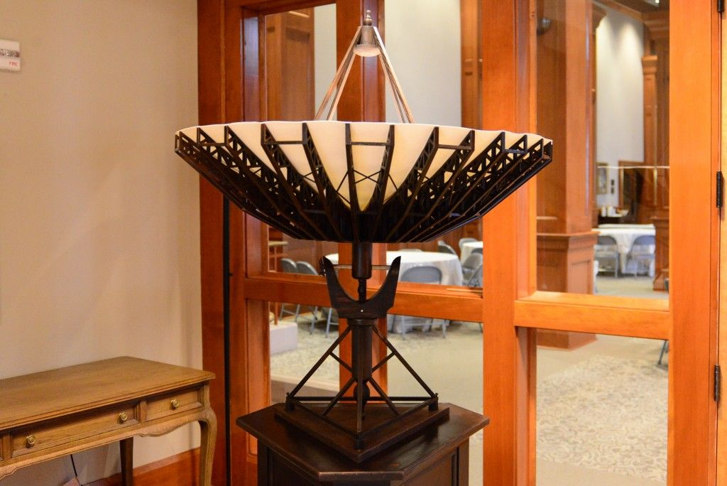 """""""Communion"""" by Chris Sauter at St. Mark's Episcopal Church. Photo by Page Graham>"""