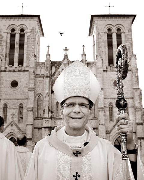 The Most Reverend Gustavo García-Siller. Archbishop of San Antonio. Photo by Al Rendon.