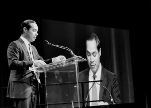 Mayor Julián Castro addresses the crowd during the 2014 State of the City.