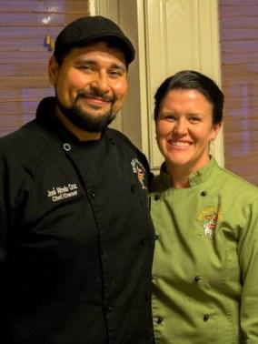 José and Tiffany Cruz, owners of Señor Veggie. Photo courtesy of Hugh Donagher.