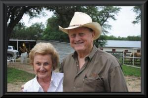 Red and Charline McCombs. Courtesy photo.