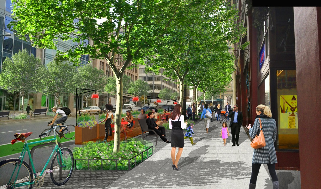 Pike-Pine Renaissance Streetscape Design Concept and Action Strategies in Seattle, WA by GUSTAFSON GUTHRIE NICHOL (image credit: GGN)