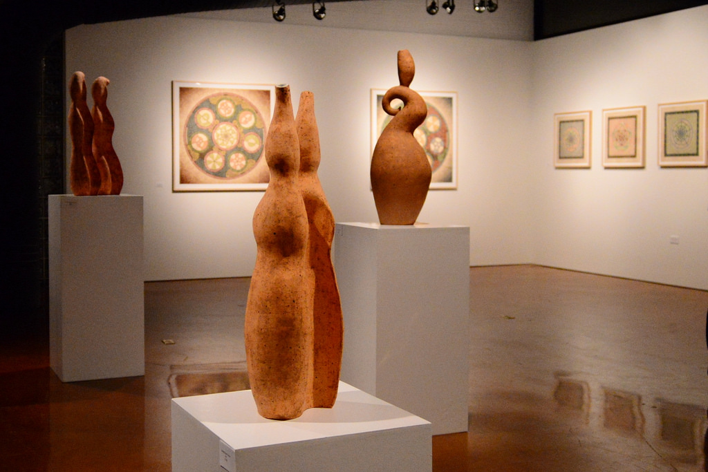 Conan Chadbourne and Mark T. Hansen exhibit currently on display at Nord Gallery. Photo by Page Graham.