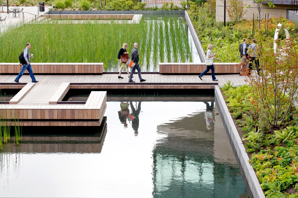 Bill & Melinda Gates Foundation Campus in Seattle, WA by GUSTAFSON GUTHRIE NICHOL (image credit: Sean Airhart, NBBJ)