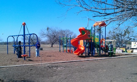 The finished product at Brooks Park. Photo by Andrew Moore.