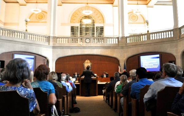 San Antonio City Council meeting. File photo by Iris Dimmick.