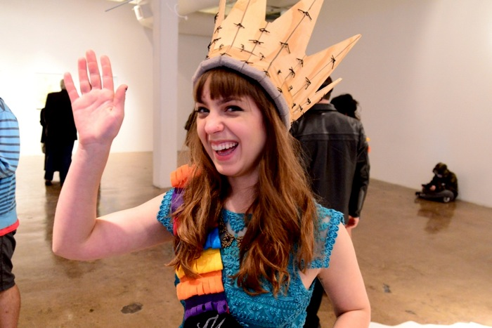 Miss CAM Antonio 2014, Alison Skopec, learns how to wave like royalty. Photo by Page Graham.