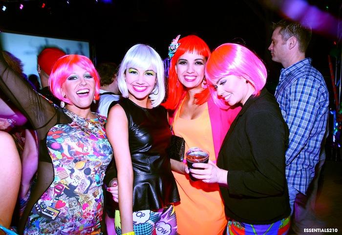 The 2013 WEBB party dance floor. Photo courtesy of the San Antonio AIDS Foundation.