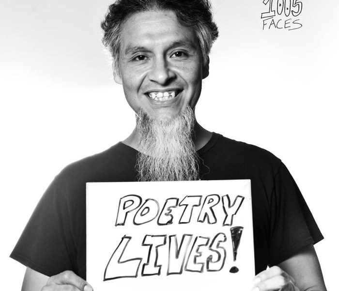 """""""Anthony the Poet."""" Photo by Sarah Brooke Lyons of the 1005 Faces project."""